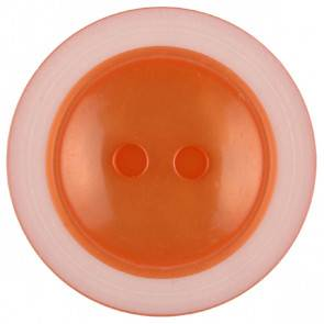 Knopf - orange - 23 mm
