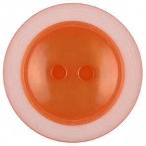 Knopf - orange - 23 mm