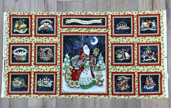 12 Days of Christmas - Panel
