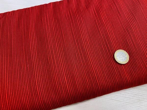 Streifen - rot - Meterware
