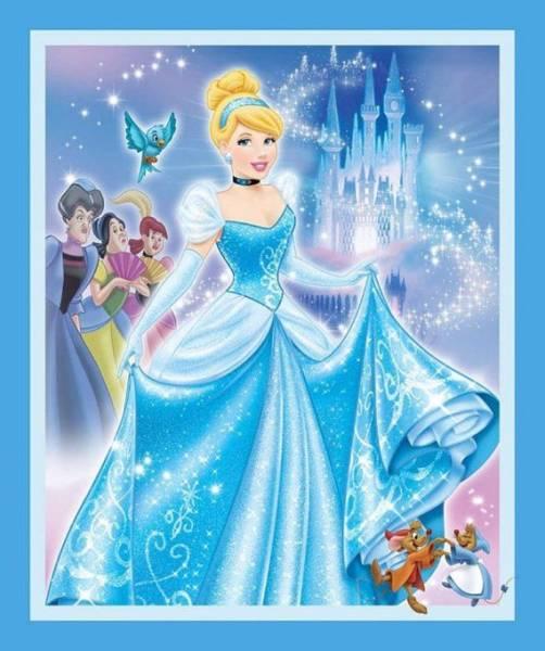 Cinderella - Panel - Bilderstoff - Disney