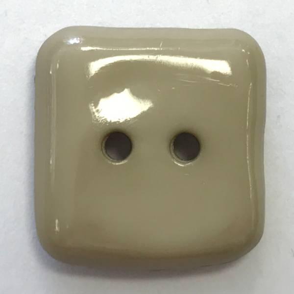 Modeknopf - beige - 15 mm