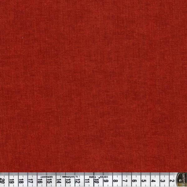 Melange Rotbraun - Patchworkstoff