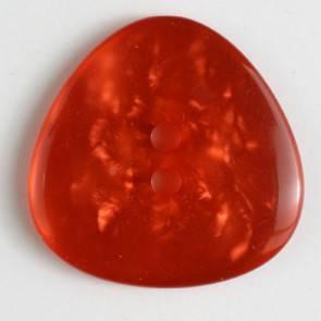 Knopf - Perlmutoptik - rot - 25 mm