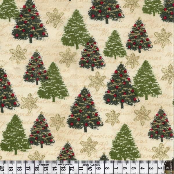 Yuletide Trees - Weihnachtsstoff