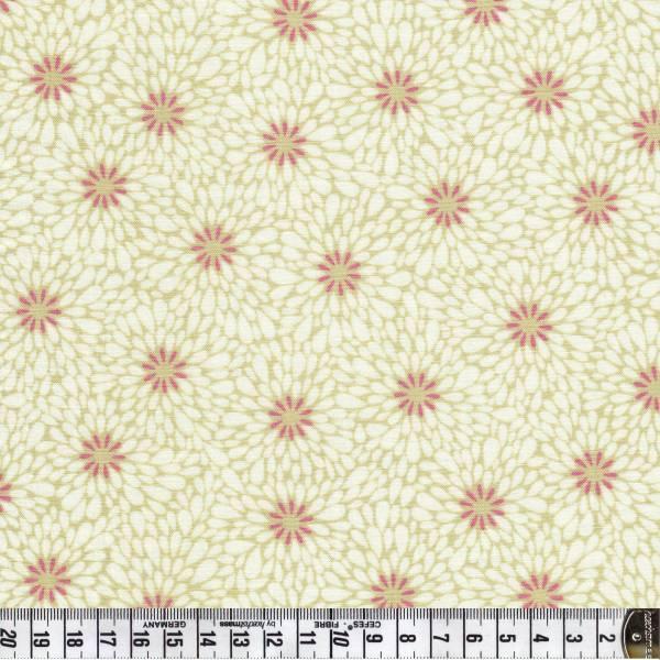 Sundance Blütenblätter in creme - Patchworkstoff