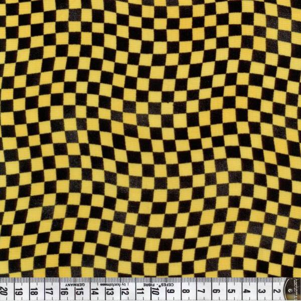 Little Hot Rod - Flag Check Black/Yellow