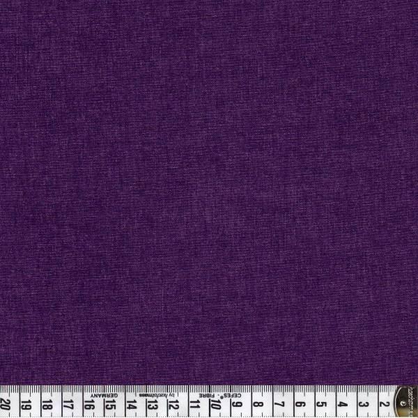 Melange dunkles Violett - Patchworkstoff