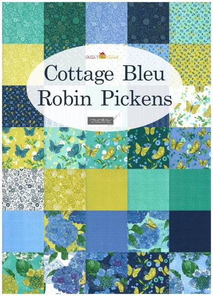 Charm Pack - Cottage Bleu