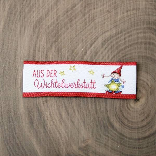 Webetikett - Label - Wichtelwerkstatt