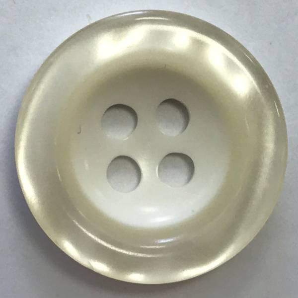 Modeknopf weiß - 28 mm