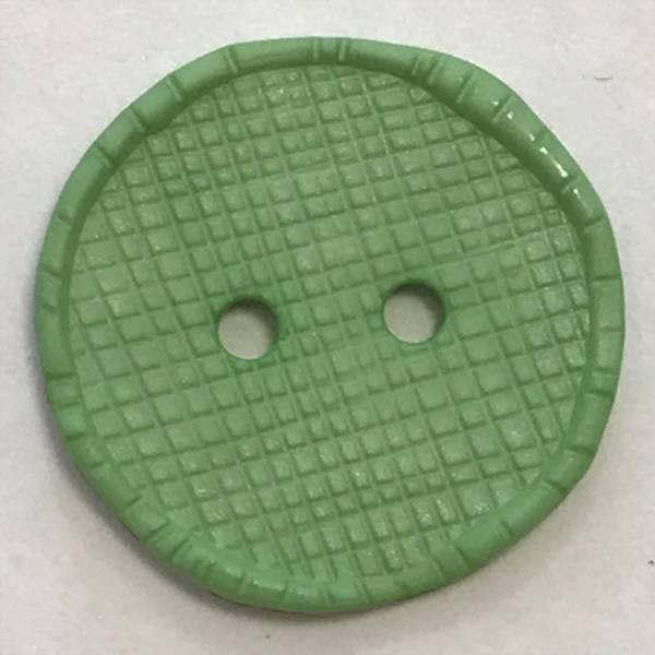 Knopf - grün - 23 mm