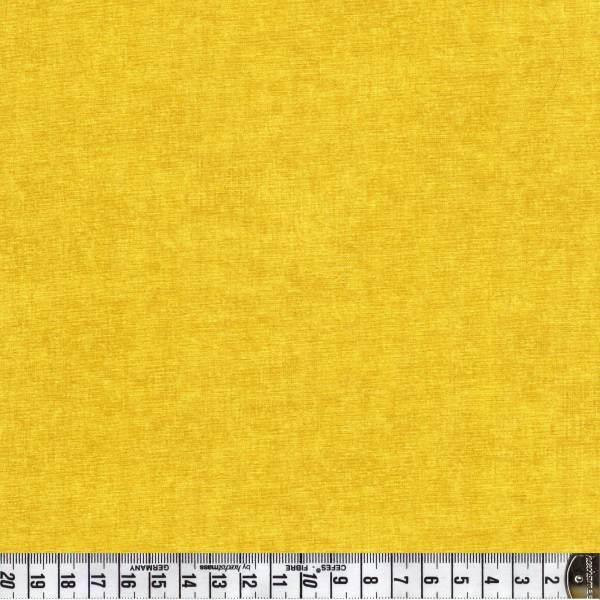 Melange Safrangelb - Patchworkstoff