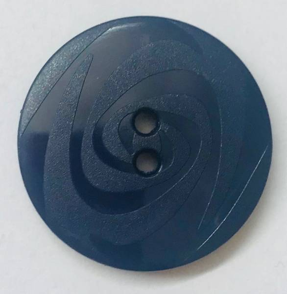 Modeknopf - blau - 23 mm