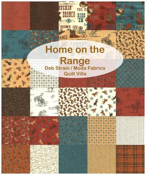 Charm Pack - Home on the Range - Deb Strain