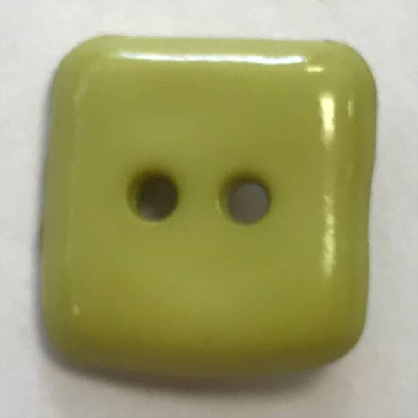 Knopf - grün - 15 mm