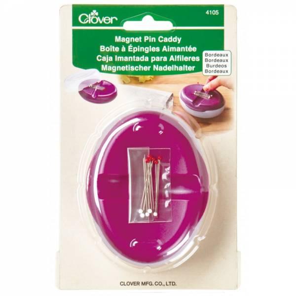 Magnet Nadelhalter (bordeaux) - Nadelkissen