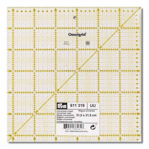 Universal-Lineal 31,5 x 31,5 cm