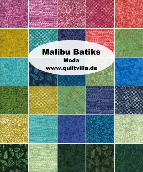 Charm Pack - Malibu Batiks
