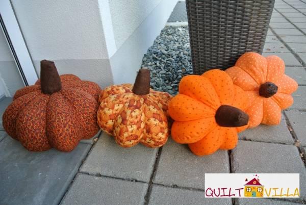 Fotoanleitung - Kürbis - Pattern Pumpkin