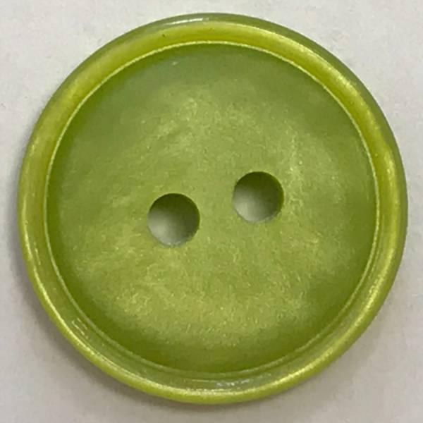 Knopf - grün - 18 mm