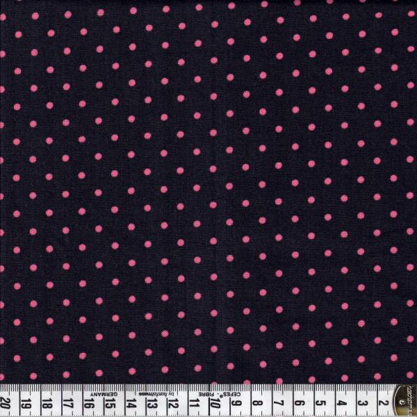 Color Basic - Rosa Punkte auf Braun