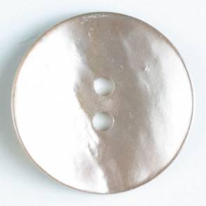 Echter Perlmuttknopf - rosa - 23 mm