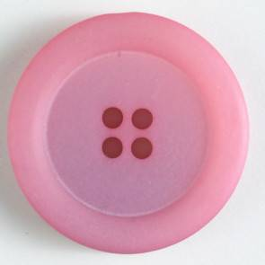 Modeknopf - rosa - 25 mm