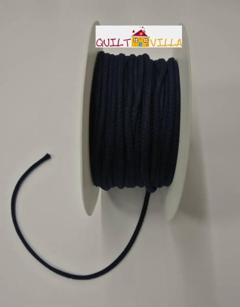 Baumwollkordel - Kordel blau 4 mm