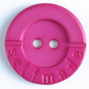 Modeknopf - rosa - 25mm
