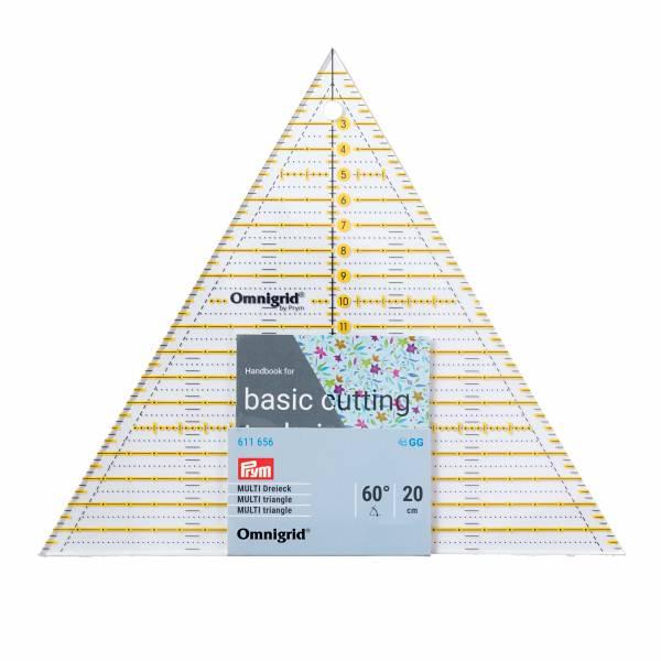 Multi Dreieck Lineal 60 Grad - Patchwork Lineal