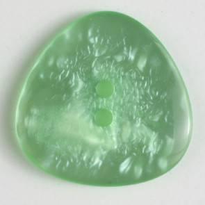 Knopf - Perlmutoptik - grün - 25 mm