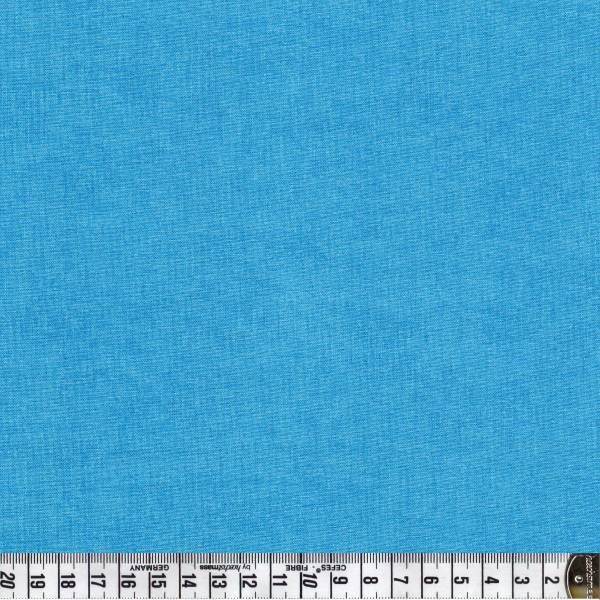 Melange Leuchtendes Himmelblau - Patchworkstoff