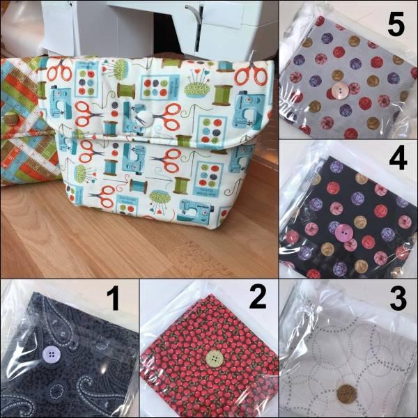 Materialpackung - Tasche - Klein und Fein - versch. Varianten