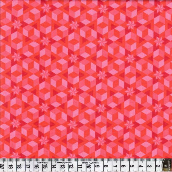 Starfish - Coral - Rosa - Pink - Patchworkstoff