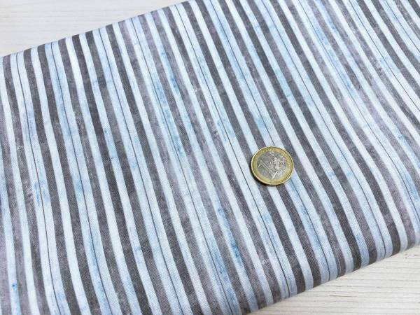Streifen - grau - blau - weiß