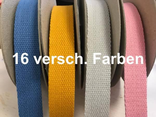 Gurtband - Taschenhenkel - Schulterband - 16 Farben