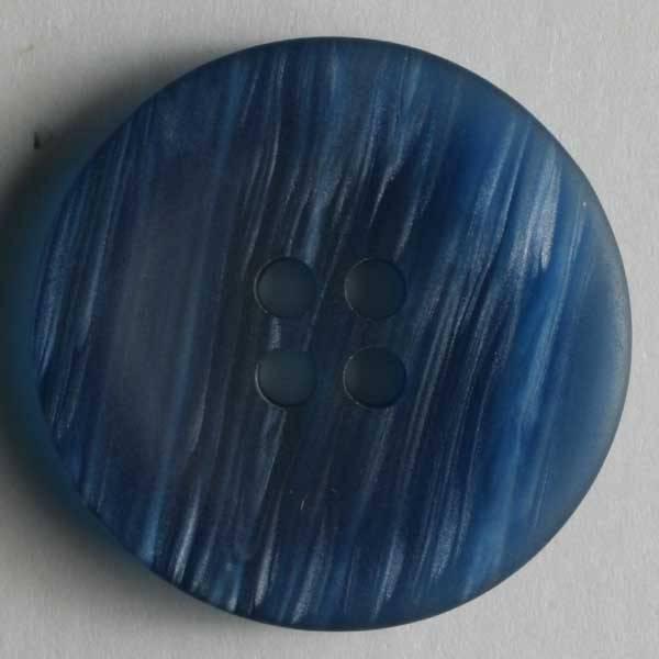 Knopf - blau - 23 mm