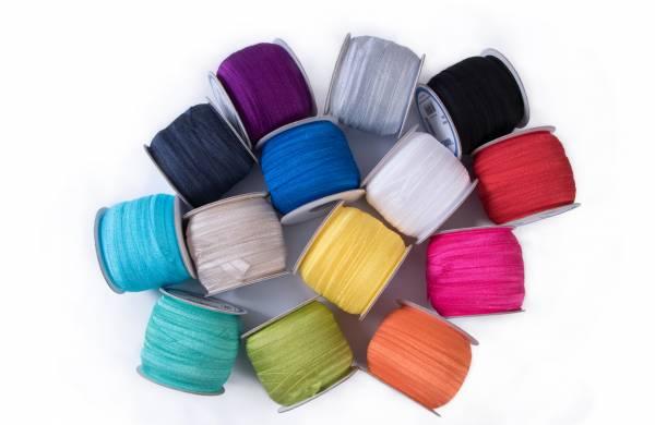 Fold Over - Gummiband - versch. Farben - byannie