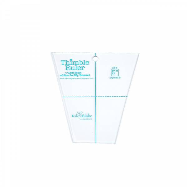 Lineal Thimble Ruler by Lory Holt - 5 inch