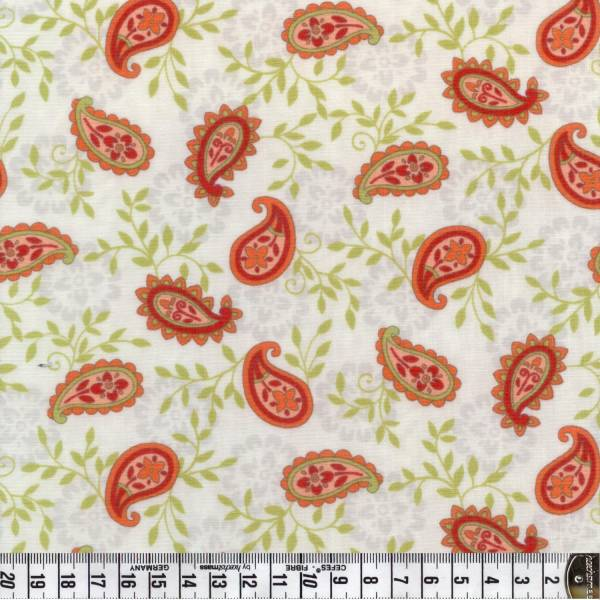 Family Tree - Paisley - orange