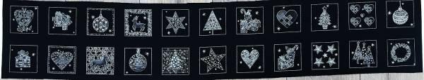 Nordic Christmas - Schwarz - Labels