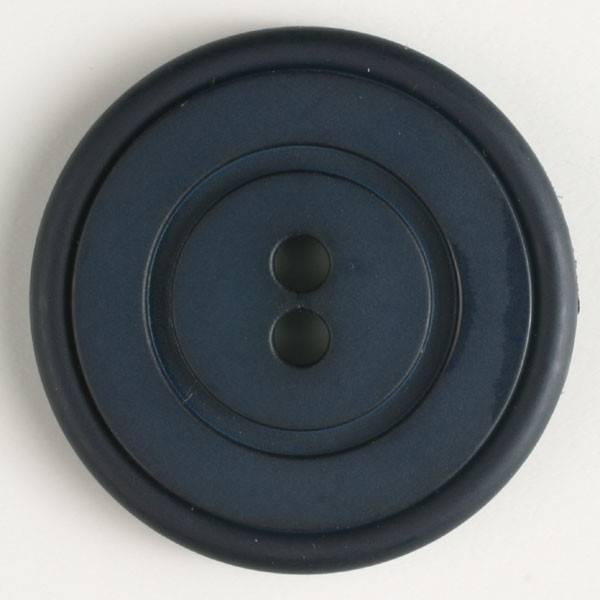 Knopf - dunkelblau - 23 mm