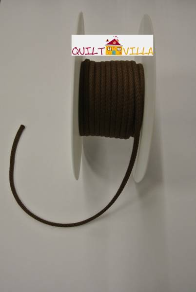 Baumwollkordel - Kordel braun 4 mm