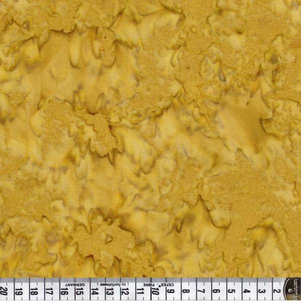 Batik - Stoff Sonnenblume gelb - Patchworkstoff