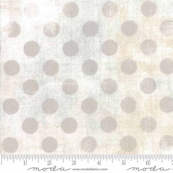 """Grunge Punkte - Überbreit - weiß - 108"""" / 274 cm Breit"""