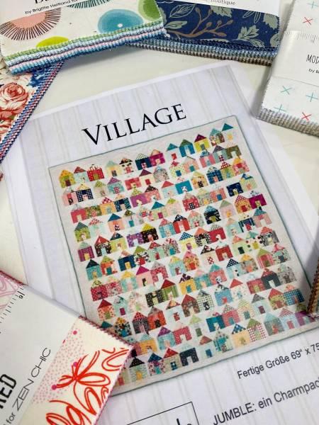 Village - Nähpaket - 300 Quadrate