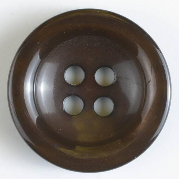 Knopf - braun - 20 mm
