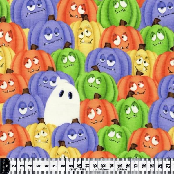 Here we glow - Halloween - Kürbis - bunt