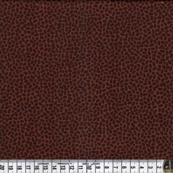 Speckles - braun - Patchworkstoff